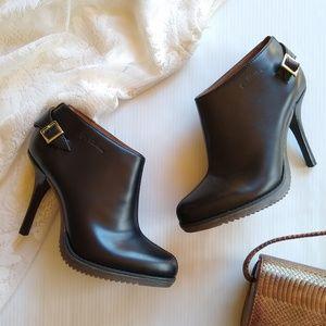 Doc Martens • Nevena black heeled booties